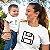 Kit Disquete Interface Camiseta Branco Camiseta Unissex e Camisetinha Infantil - Imagem 2