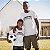 Kit Monstro e Monstro em Treinamento Branco Camiseta Unissex e Camisetinha Infantil - Imagem 2