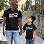 Kit Eu Sou Seu Pai Filha Preto Camiseta Unissex e Camisetinha Infantil - Imagem 2