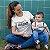 Kit Legend Legacy Montanha Branco Camiseta Unissex e Body Infantil - Imagem 2