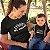 Kit Criador e Quebrador de Regras Preto Camiseta Unissex e Body Infantil - Imagem 2