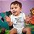 Body ou Camisetinha Infantil Furacãozinho Branco - Imagem 2