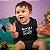 Body ou Camisetinha Infantil Player 3 Preto - Imagem 2