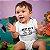 Body ou Camisetinha Infantil Player 3 Branco - Imagem 2