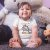 Body ou Camisetinha Infantil Herdeira do Brilho Branco - Imagem 2