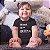 Body ou Camisetinha Infantil Melhor Filha Preto - Imagem 2