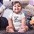Body ou Camisetinha Infantil Melhor Filha Branco - Imagem 2