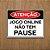 Placa Decorativa Jogo Online Não Tem Pause - Imagem 1