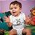 Body ou Camisetinha Infantil Ninja em Treinamento Branco - Imagem 2