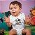 Body ou Camisetinha Infantil Pirata em Treinamento Branco - Imagem 2