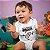 Body ou Camisetinha Infantil Over 9000 Branco - Imagem 2