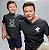 Kit Mestre Ninja e Ninja em Treinamento Preto Camiseta Unissex e Camisetinha Infantil - Imagem 3