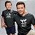 Kit Rei dos Piratas e Pirata em Treinamento Preto Camiseta Unissex e Body Infantil - Imagem 2