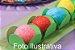 Açúcar Colorido Branco Mil Cores 80gr - Imagem 2