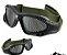 Óculos de proteção Airsoft tela Verde - Imagem 4