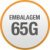 Petisco Total DogLicious Snacks Chicken - 65g - Imagem 3