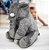 Almofada Elefante Pelúcia 45cm Travesseiro Bebê Antialérgico - Cinza - Imagem 1
