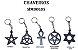5 Chaveiro símbolos - Imagem 1