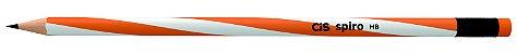 Lápis Preto com Borracha Cis Spiro - Imagem 2