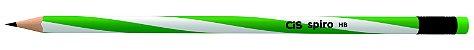 Lápis Preto com Borracha Cis Spiro - Imagem 3