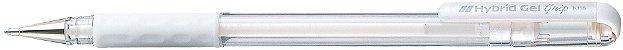 Caneta Hybrid Gel Grip Branca K118-LW - Imagem 1