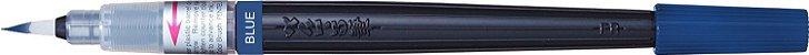 Caneta Pincel Aquarela Color Brush Pentel  Azul - Imagem 1