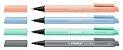 Caneta Stabilo Pointmax Pastel 488/4-02  Estojo com 4 unidades - Imagem 2