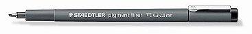 Caneta Nankin Pigment Liner Staedtler Chanfrada 0.3 - 2.0mm - Imagem 1