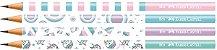 Lapis Preto Faber Castell Hb Nº 2 - Marshmallow - Imagem 1