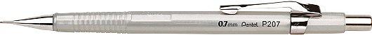 Lapiseira 0.7mm Pentel Sharp Prata 207-ZPB - Imagem 1