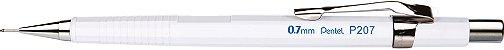Lapiseira 0.7mm Pentel Sharp P207WPB - Branca - Imagem 1