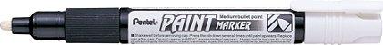 Marcador Permanente MMP20 Pentel - Branco - Imagem 1