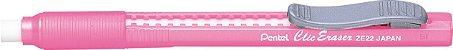 Caneta Borracha Pentel Clic Eraser - Rosa - Imagem 1