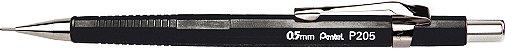 Lapiseira 0.5mm Pentel Sharp P205 - Cores Sortidas - Imagem 1