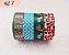 Fita Adesiva Washi Tape Estampada Kit c/4 - Imagem 7
