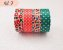 Fita Adesiva Washi Tape Estampada Kit c/4 - Imagem 9