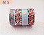 Fita Adesiva Washi Tape Estampada Kit c/4 - Imagem 5