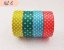 Fita Adesiva Washi Tape Estampada Kit c/4 - Imagem 6