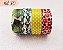 Fita Adesiva Washi Tape Estampada Kit c/4 - Imagem 10