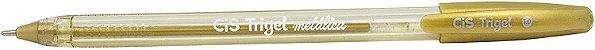 Caneta Cis Trigel Estojo com 10 cores Metálicas  - Imagem 2