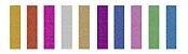 Fita Adesiva Washi Tape Brw 15mmx5m c/ 10 - Glitter - Imagem 2