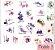 Kit de Mini Adesivos Ilustrados com 40 unidades - Imagem 5