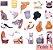 Kit de Mini Adesivos Ilustrados com 40 unidades - Imagem 6