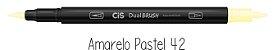 Caneta Cis Dual Brush Aquarelável Pastel Avulsa - Imagem 2