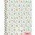 Caderno Universitário Jolie Classic 1 Matéria Tilibra 80 folhas - Imagem 1