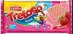 Biscoito Treloso Wafer Morango 100g - Imagem 1