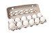 Ovo Branco Grande com 12 unidades - Imagem 1