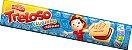 Biscoito Recheado chocolate Treloso Clubinho 140g - Imagem 1
