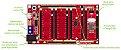 Base Boarduino – Arduino UNO 4 slots - Imagem 2