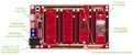 Base Boarduino L – Arduino UNO 6 slots - Imagem 2